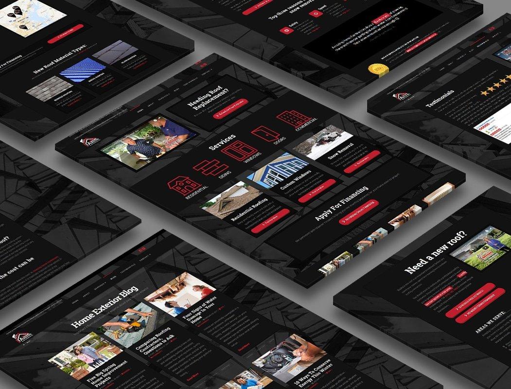 Amazing Home Contractors website design