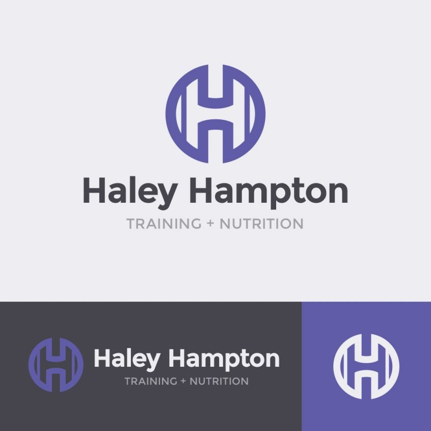 Haley Hampton logo design